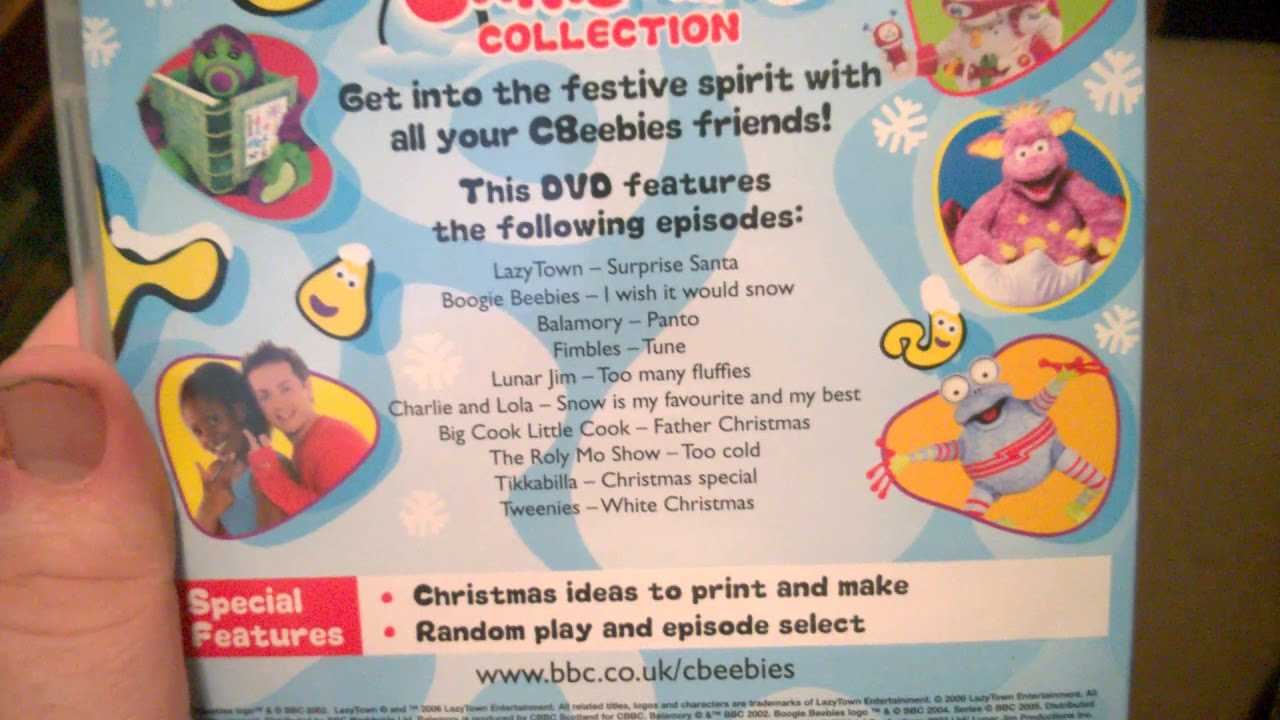 cbeebies the ultimate christmas collection dvd review youtube