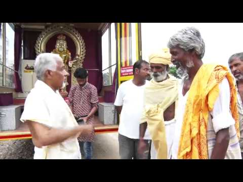 BHARATYATHRA 2015 . a person argues for jathi, Hindu Sadhus (Monks) fully supports KK Bose