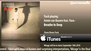 Armin van Buuren feat. Fiora - Breathe In Deep