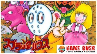 Game Over: Splatterhouse - Wanpaku Graffiti (Famicom) - Defunct Games