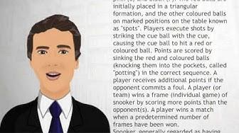 Snooker - Wiki Videos