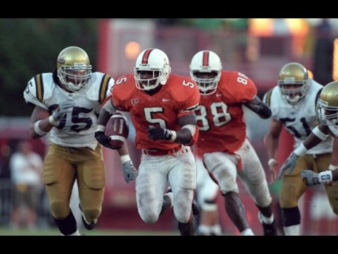 Classic Tailback - Edgerrin James Miami Highlights