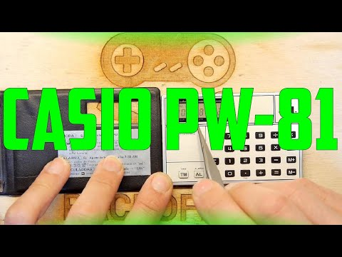 Teardown Lab - Casio PW-81
