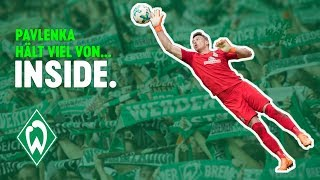 Pavlenka-Parade & Thomas Schaaf exklusiv   WERDER.TV Inside nach Dortmund
