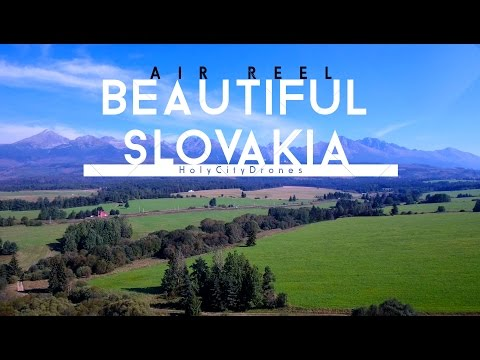 Beautiful Slovakia - 4K - Drone Shots