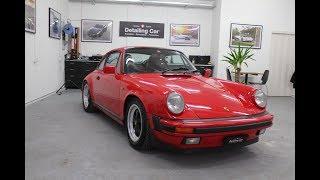 Detailing Car - Porsche Carrera 911- 930  - Rénovation Complète
