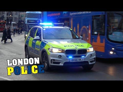 [Compilation] - London Metropolitan Police & British Transport Police responding