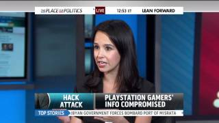 Contessa Brewer & Natali Morris discuss PSN hack on MSNBC