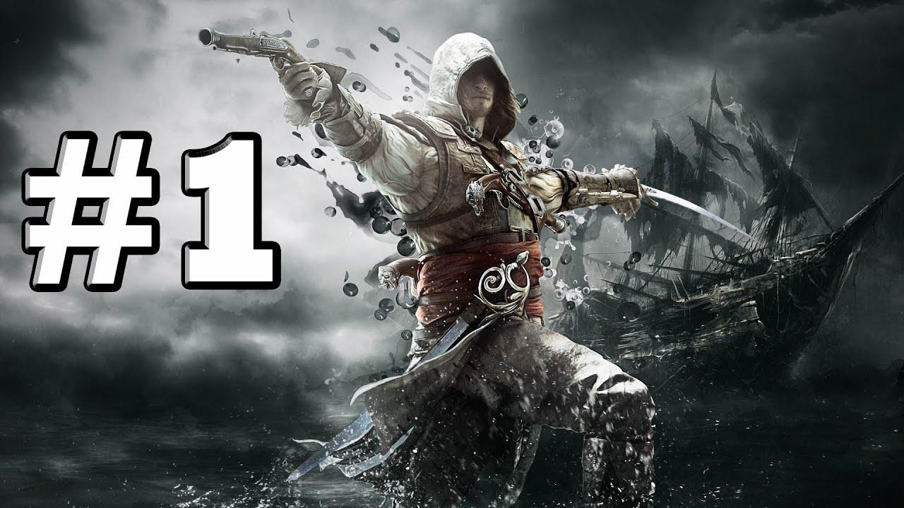 [Sub Việt] Cùng chơi/gameplay Assassin's Creed 4: Black Flag #1: TẬP LÀM CƯỚP BIỂN