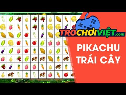 Game pikachu trái cây – Video hướng dẫn cách chơi game