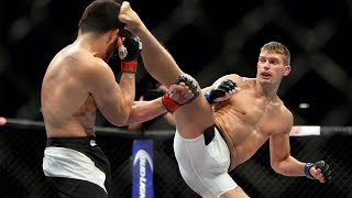 Top Finishes from UFC 264 Fighters