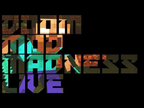 Brutal Minecraft / Golden Souls 3 Demo - Doom Mod Madness LIVE