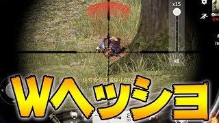【荒野行動】奇跡のダブルヘッドショット!爆走兄弟