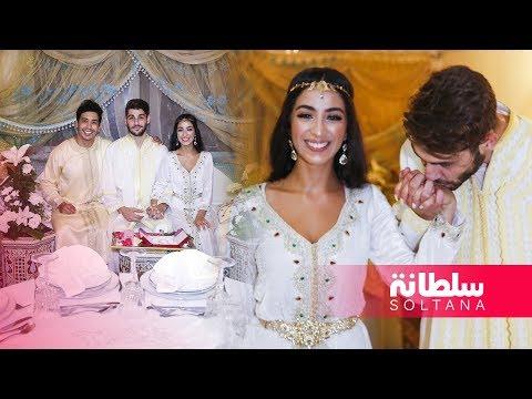 ماريا نديم وعضو فريق 'ذو فايف يرقصان ويغنيان لبعضهما في حفل الخطوبة وكاظم: محظوظ أنني تزوجت مغربية