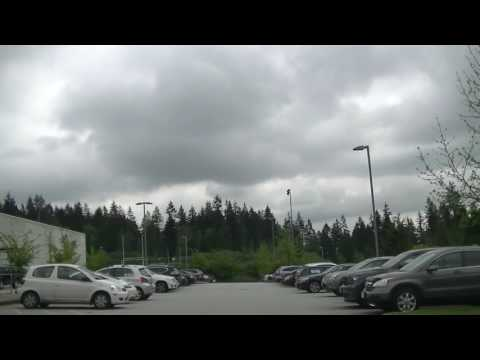 PORT MOODY BC CANADA - Driving in the CITY of the Arts - Vancouver Suburb Jazz BGM