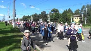 Крестный ход из Перми 26 июля 2015 года