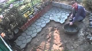Forma Do ścieżki Ogrodowej Forma Pro Zahradní Cestičku Na Betonové Chodníky Youtube
