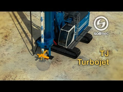 Turbojet Technology Soilmec TJ [SR-90 drilling rig machine]