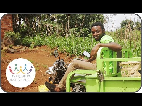 Meet David Morfaw – Queen's Young Leader from Cameroon