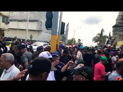 Situation actual en Colón Panama 🇵🇦  (tvn)