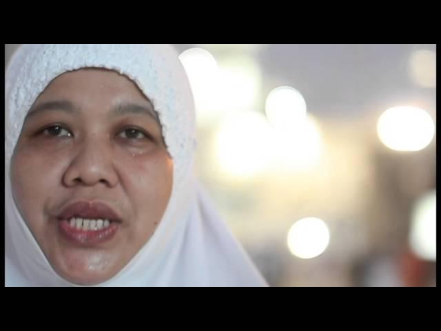 Pengalaman seorang peminat Telekung Siti Khadijah di kota suci Mekah