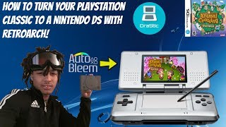 How To Play Nintendo DS Games On Your PlayStation Classic! [Drastic Emulator]