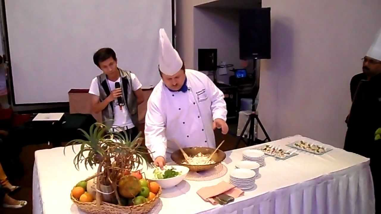Cooking Demonstration by Chef Volkmar Ertel @ Impiana