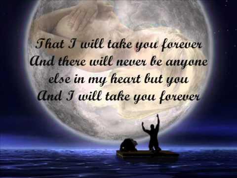 "I will take you forever by: kris lawrence & denise laurel "" Lyrics"""