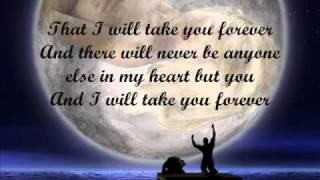 "I will take you forever by: kris lawrence & denise laurel "" Lyrics"""