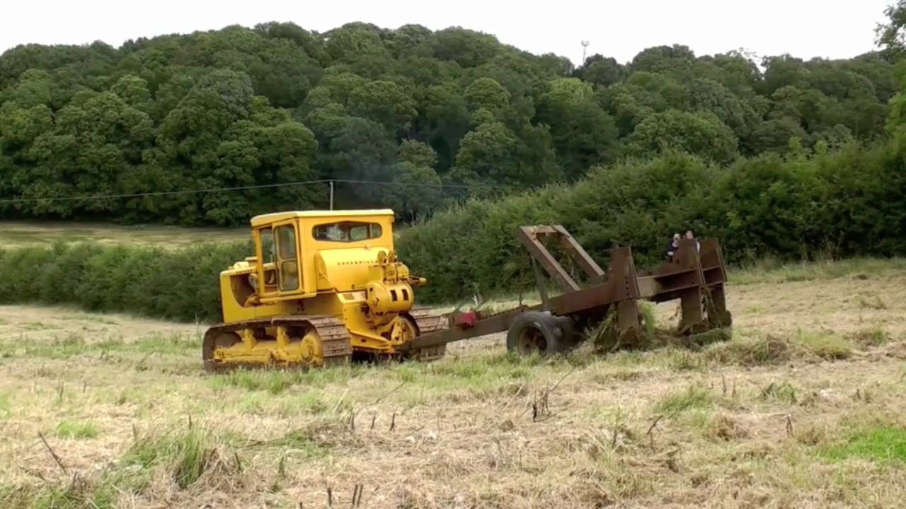 Caterpillar D8 Vintage Working Weekend Youtube