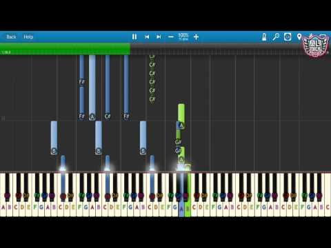SNSD - DIVINE Piano Tutorial (Ballad Ver.)