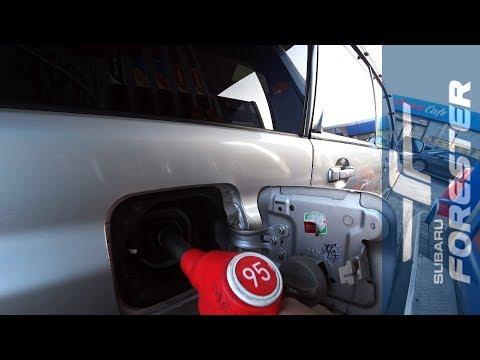Сколько бенза жрёт Subaru? Точный замер!