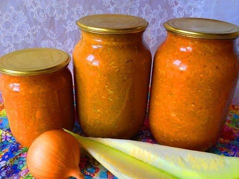 Как сделать кабачковую икру с майонезом и томатной пастой