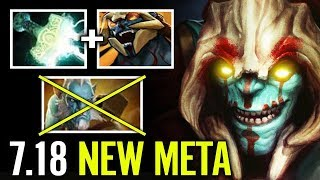 Huskar new Meta - Attack Speed Bonus & Mjollnir is Unstoppable Dota 2 Cancer Build