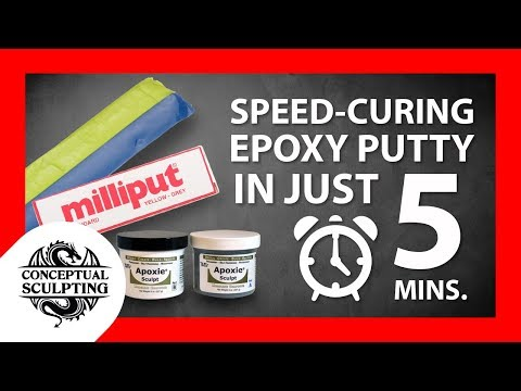 Speed Curing Epoxy Putty in Just 5 Minutes