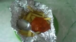 Жареная картошка в фольге