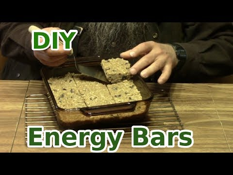 Make Your Own Energy Trail Bars