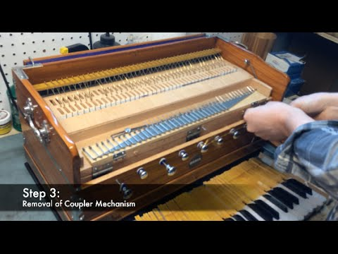 Harmonium Repair: Coupler Removal Tutorial
