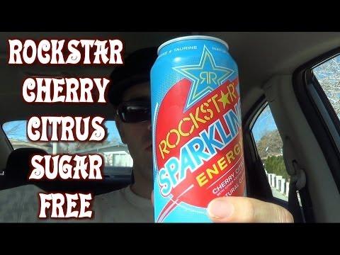 Rockstar Energy - New Cherry Citrus! Sugar Free! (Snacking on the Run 22)