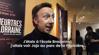"""Rencontre avec Stéphane Bern, acteur principal de """"Meurtres en Lorraine"""""""
