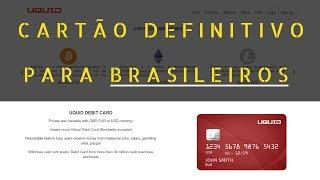 ⚫UQUID/ Melhor Carteira de Bitcoin / Cartão de Debito VISA