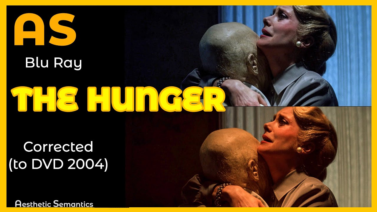 Download The Hunger (1983) Blu Ray is WRONG - 4K