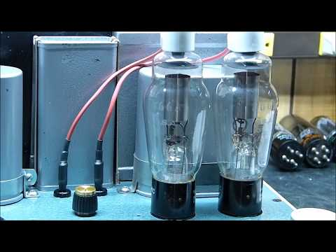 Western Electric Style 300B Vacuum Tube Push Pull Amplifier Update With Measurements