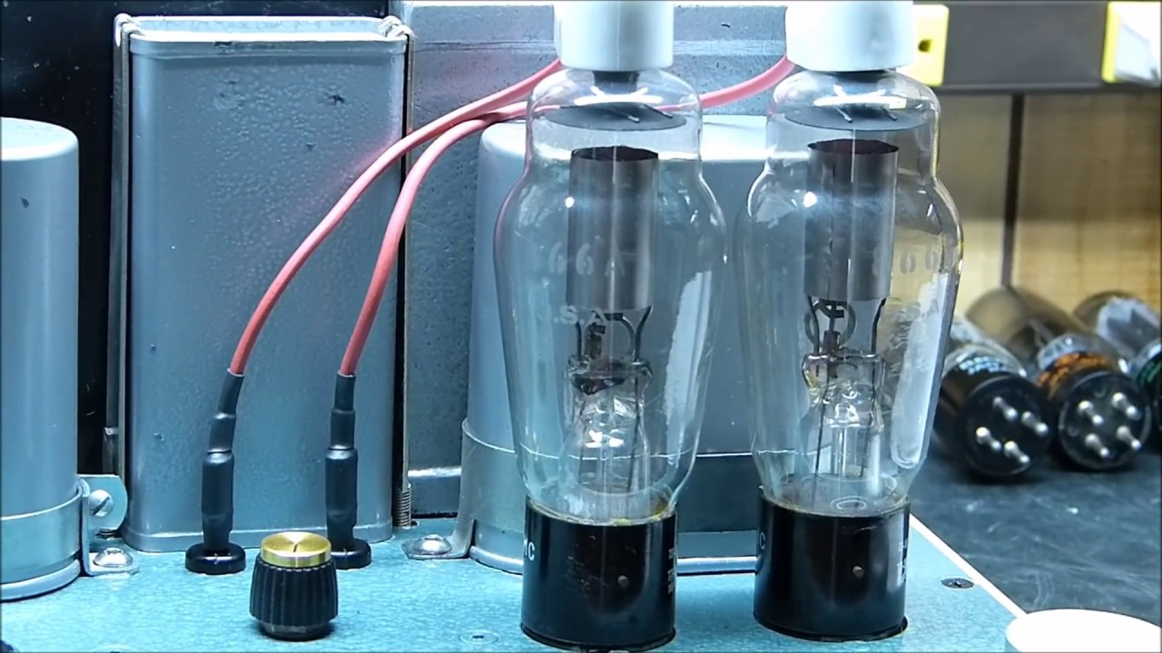 300B Triode Vacuum Tube Push Pull Amplifier Update & 866A Mercury Vapor  Rectifiers