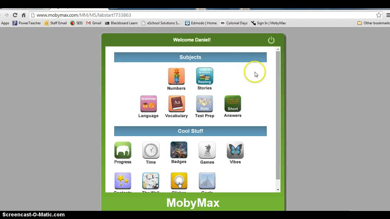 Moby Max Demo Youtube
