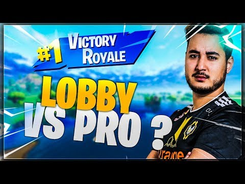 "JE TOMBE DANS UN LOBBY ""RANKED"" PRO SUR FORTNITE !!!"
