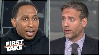 Stephen A. & Max make predictions for the Rams vs. Bills Week 3 matchup | First Take