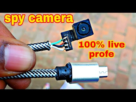 how to make dual spy camera from old mobile phone camera / spy cctv camera  - YouTubeYouTube
