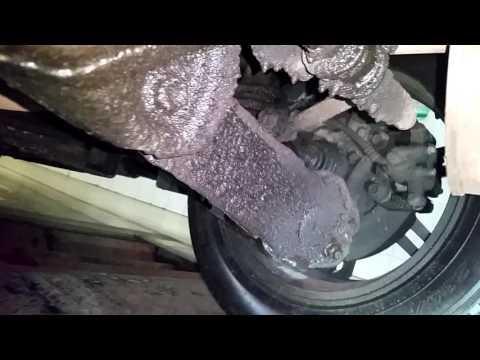 Хонда CR-V поиск шумов (задняя подвеска)