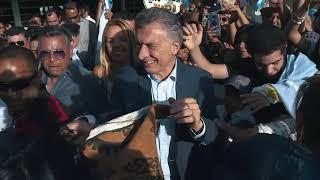 El presidente Macri visitó un NIDO en la localidad salteña de El Mollar